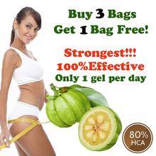 Comprar 3 get 1 grátis! produtos de emagrecimento 80% HCA garcinia cambogia extrato puro dieta perder peso do produto queimador de gordura eficaz alishoppbrasil