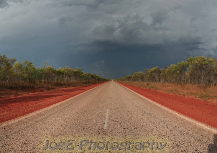 Upcoming Thunderstorm near Great Sandy Desert - WA  This is the kind of landscape that Bo & Callum rode through to cross Australia.