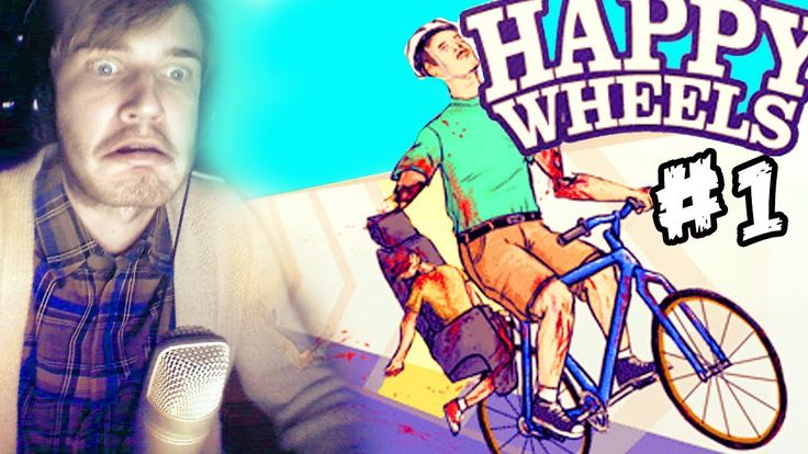 Happy Wheels - Part 1 - PewDiePie Lets Play. I will be pinning a new pewdiepie video every week!!