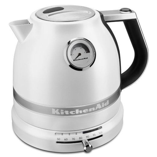 Amazon.com: Kitchenaid Pro Line Electric Kettle - Frosted Pearl White: Kitchen & Dining