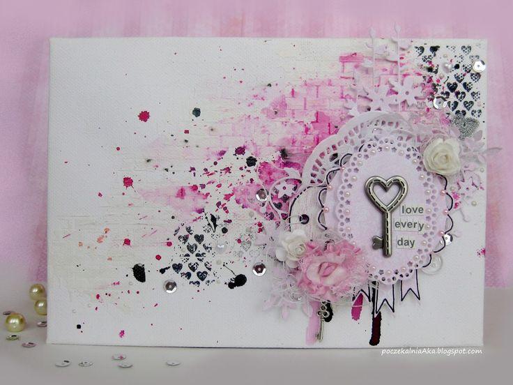 #ScrapAndMe #pink #canva