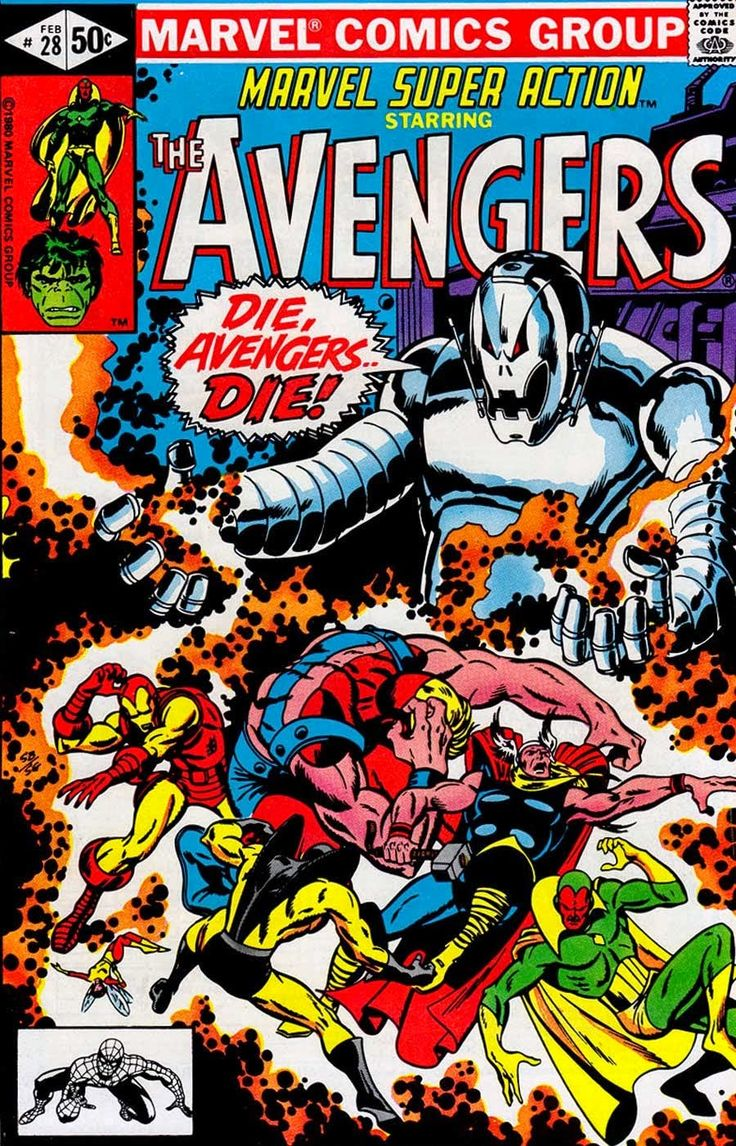 That's German for The Avengers The. A German speaking robot can't be evil!