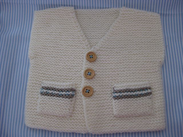 Ravelry: Essellowen's Baby Garter Stitch Vest