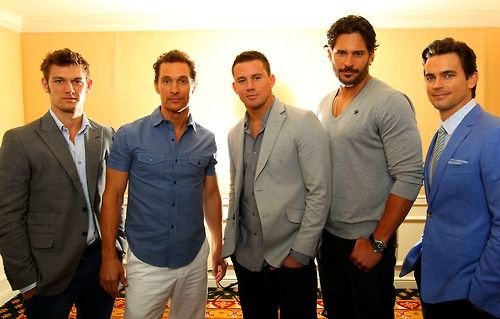 Cast of Magic Mike