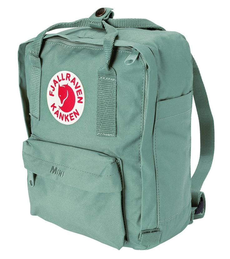 kanken mini backpack frost green textiles fashion. Black Bedroom Furniture Sets. Home Design Ideas