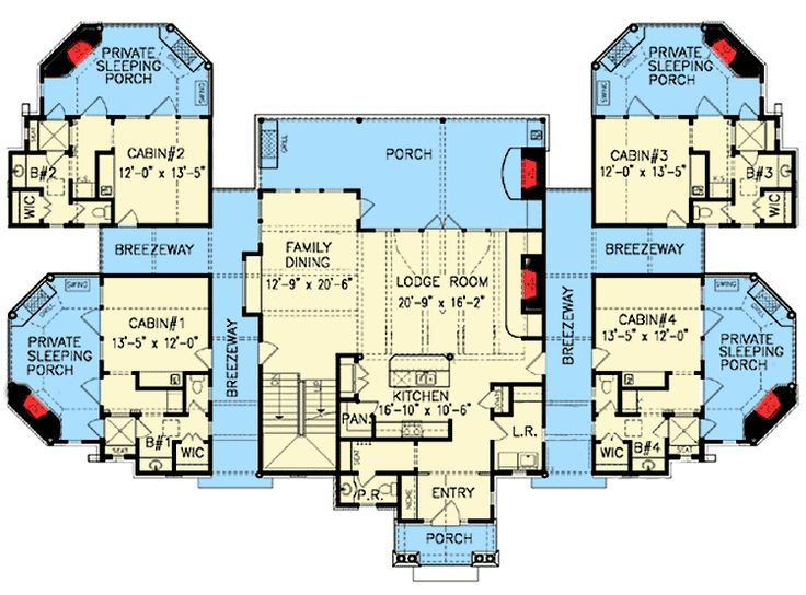 Best 25 home plans ideas on pinterest house floor plans for How to plan a couples retreat