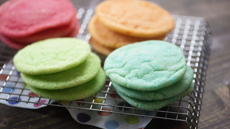 Simple sugar cookies get a burst of color and a burst of flavor thanks to Jell-O™!