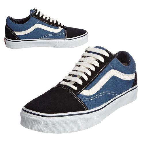 Vans Old Skool Navy/White Classics Skate Shoe Unisex Sneakers