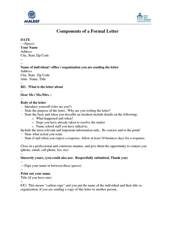Image Result For Template Letter To Introduce Yourself