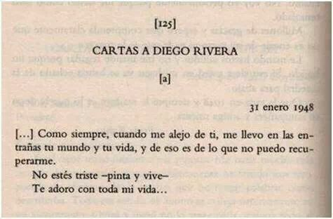 Cartas a Diego Rivera