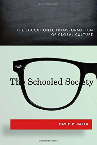The Schooled Society: The Educational Transformation of Global Culture:   Only 150 years ago, the majority of the world's population was largely illiterate. Today, not only do most people over fifteen have basic reading and writing skills, but 20 percent of the population attends some form of higher education. What are the effects of such radical, large-scale change? David Baker argues that the education revolution has transformed our world into a schooled society―that is, a society th...