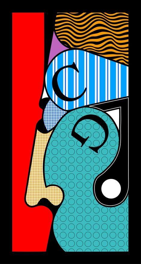 Oswald Aulestia, perfil vermell on ArtStack #oswald-aulestia #art