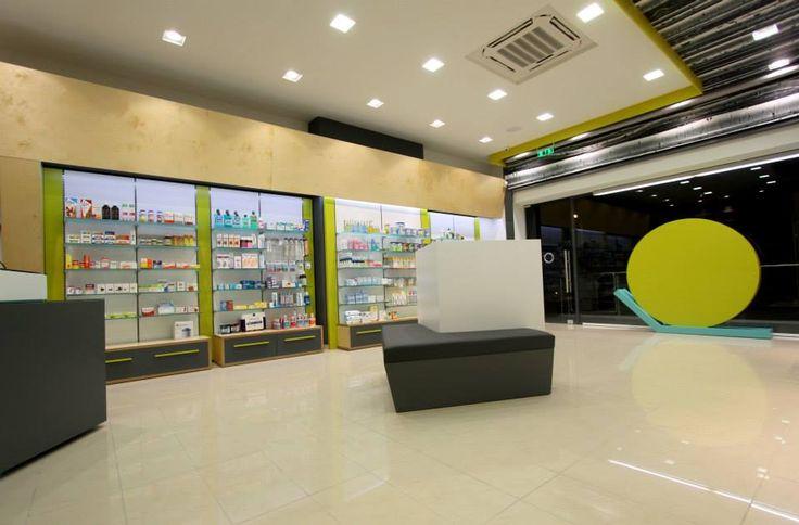 Interior pharmacy design