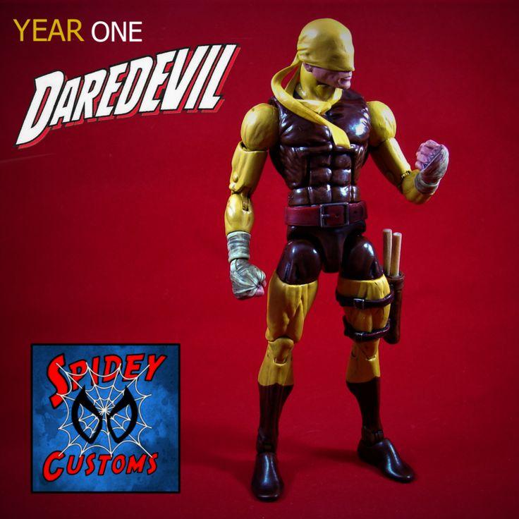 Year One Daredevil (Marvel Legends) Custom Action Figure