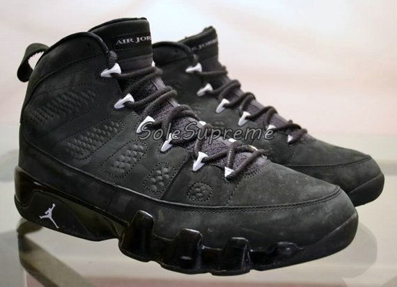 detailed look 0da13 0f778 Young Air Jordan IX Boys Shoe Oregon Ducks PE Anthracite ...