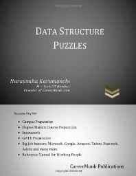 Data Structure Puzzles: Puzzle Your Mind for Data Structures Paperback ? Import 9 Mar 2011