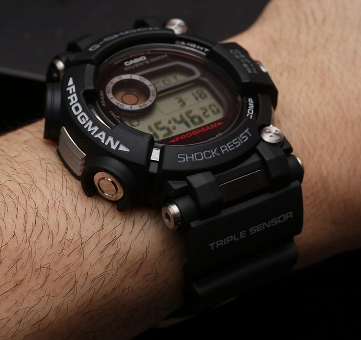 Casio G-Shock Frogman GWF-D1000 Hands-On: The Ultimate Diving Tool Watch