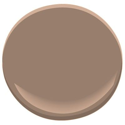 Taupetone, a warm, well-balanced brown, this no-nonsense shade is reassuringly rich and sophisticated. An instant classic in a bathroom downstairs.