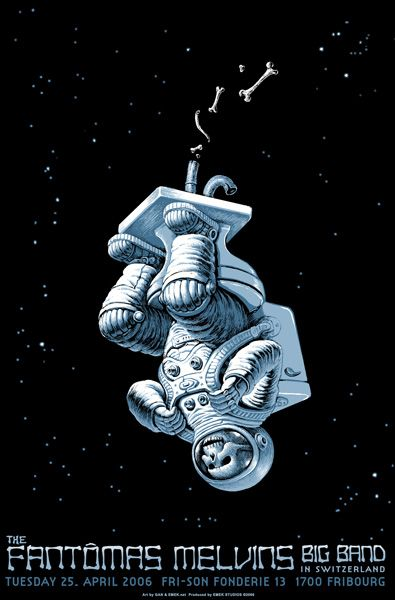 Melvins Posters   Fantomas / The Melvins Big Band by Emek