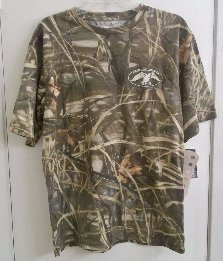 Duck Commander Realtree Max-4 T-Shirt Camo Adult Medium New w/ Tags Duck Dynasty #DuckCommander #TShirt
