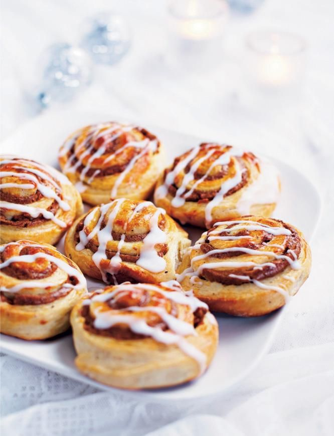 Elisan piparipullat // Gingerbread Buns