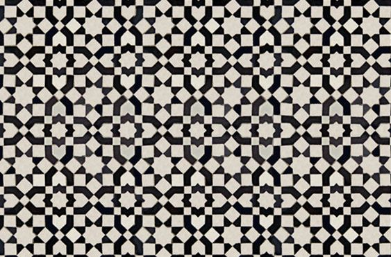 black and white tiled floor Ideas for white bathroom floor Handmade tiles can be colour coordinated and customized re. shape, texture, pattern, etc. by ceramic design studios