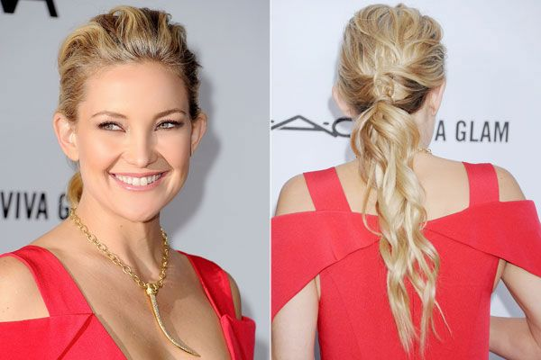 Chic Ponytails to Try at Every Height: Low and Wavy