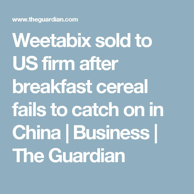 20 best brand architecture images on pinterest childhood coke weetabix sold to us firm after breakfast cereal fails to catch on in china sciox Image collections