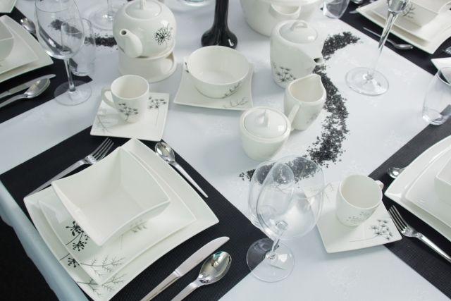 Zastawa stołowa FINO porcelana