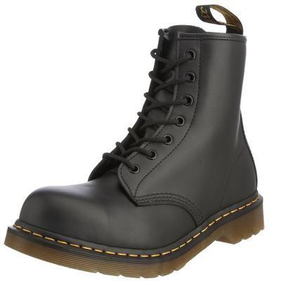 Dr. Martens Original 8 Eyelet 1920Z 11821500, Unisex - Erwachsene Stahlkappenschuhe, schwarz, 48 EU / 13 UK #shoes #men #covetme #dr.martens