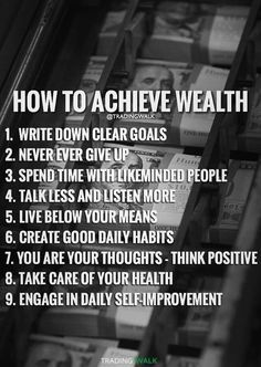 How to achieve wealth - 9 steps to become a millionaire or billionaire. Click to download our free winning trading strategy great for traders investing and trading in Forex Stocks Penny Stocks and Cryptocurrency. #tradingstrategiesinvesting