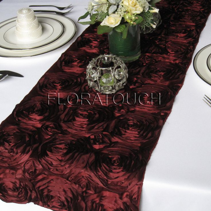 102 best images about red vow renewal wedding on pinterest for 102 table runners