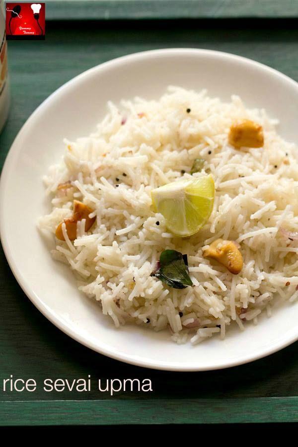 rice sevai upma http://on.fb.me/1Hy0nZm