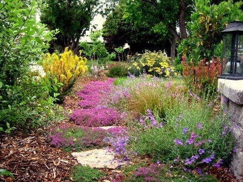 Flowering thyme between the pathway stones gives off a lovely fragrance  when walking and is a traditional Tuscan element. Design by Gardens by  Gabriel in ... - 25+ Best Tuscan Garden Ideas On Pinterest Tuscany Decor, Tuscan
