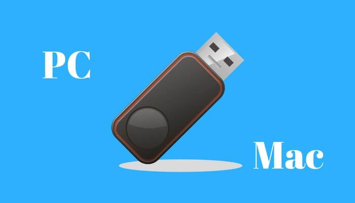 how to format flash drive for mac and pc