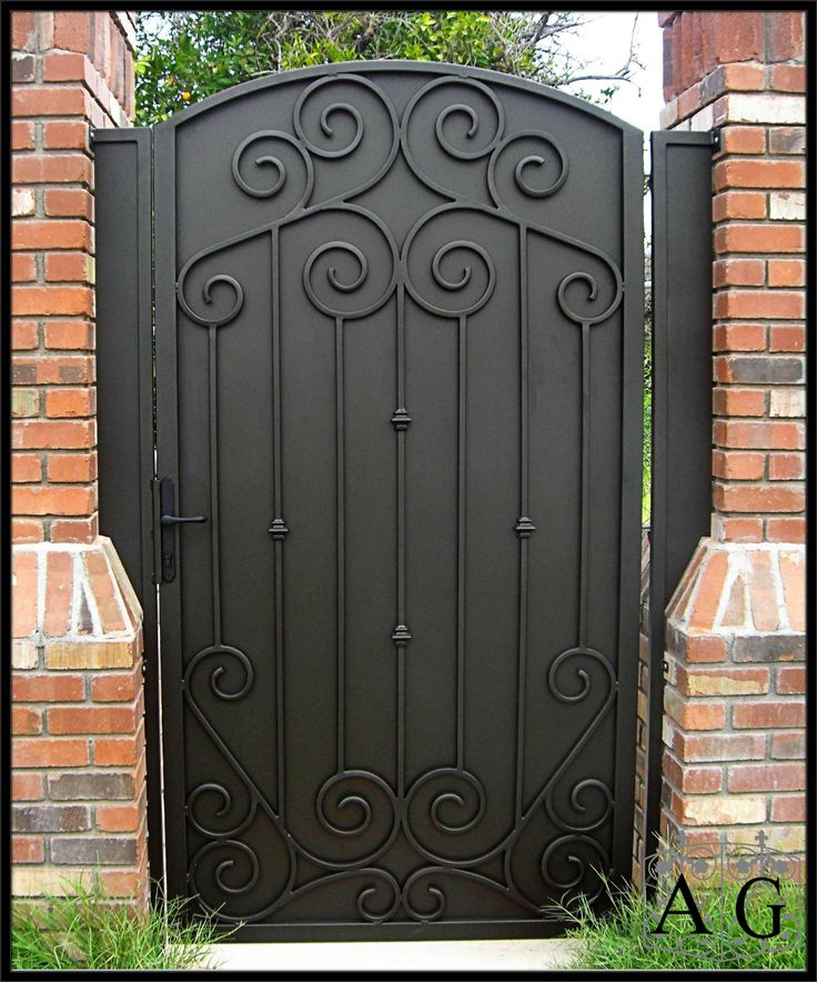 17 best Wrought Iron Gates images on Pinterest | Front ...