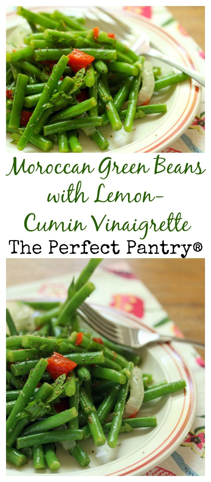 137 best moroccan images on pinterest vegan recipes vegetarian moroccan green beans with a lemon cumin dressing brighten up your holiday table forumfinder Gallery