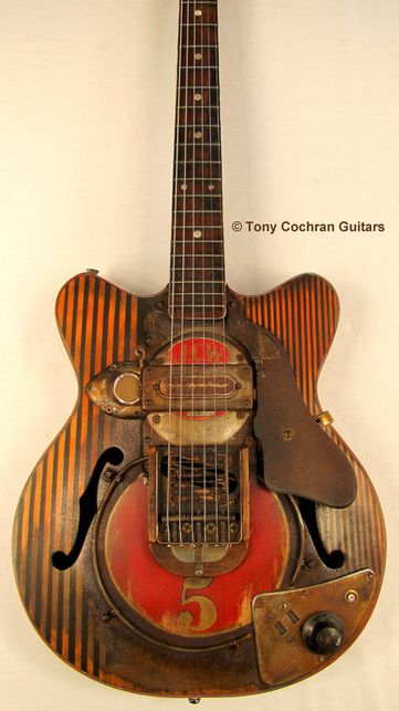 Tony Cochran JCW5 electric guitar - for Sale  Picture