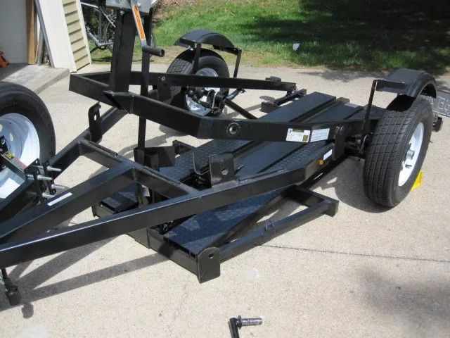 Used 2016 rampfree trailers single atvs for sale in for Motor trailers for sale
