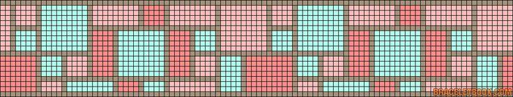 Alpha Friendship Bracelet Pattern #14182 - BraceletBook.com
