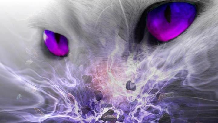tiger fractal cats e - photo #47