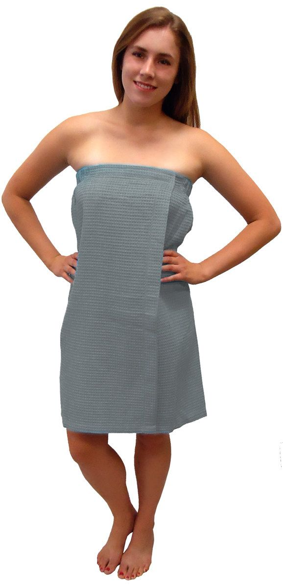 Monogrammed Gray Spa Wrap by DoubleBEmbroidery on Etsy