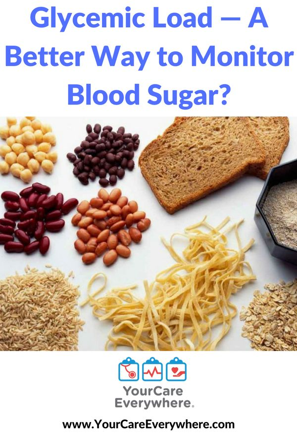 Many alternatives have been developed to evaluate how foods affect blood sugar, including glycemic load.