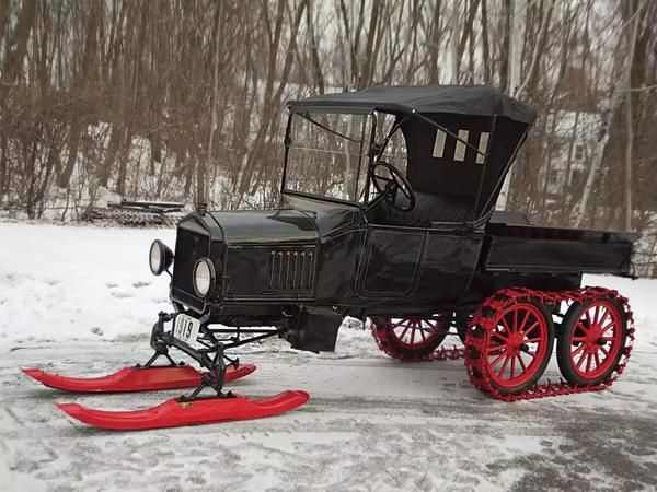 Ford   Model  T  (Snow Mobile)  1924
