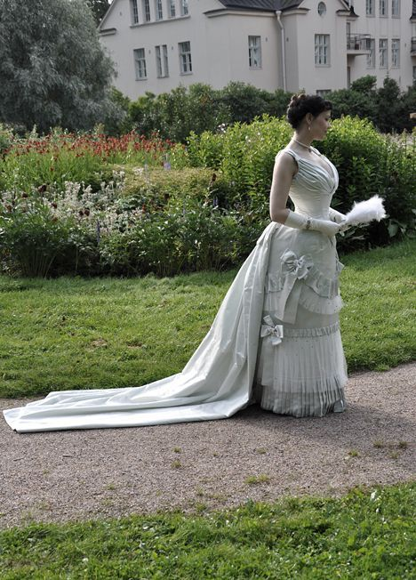 1880's formal / court presentation gown