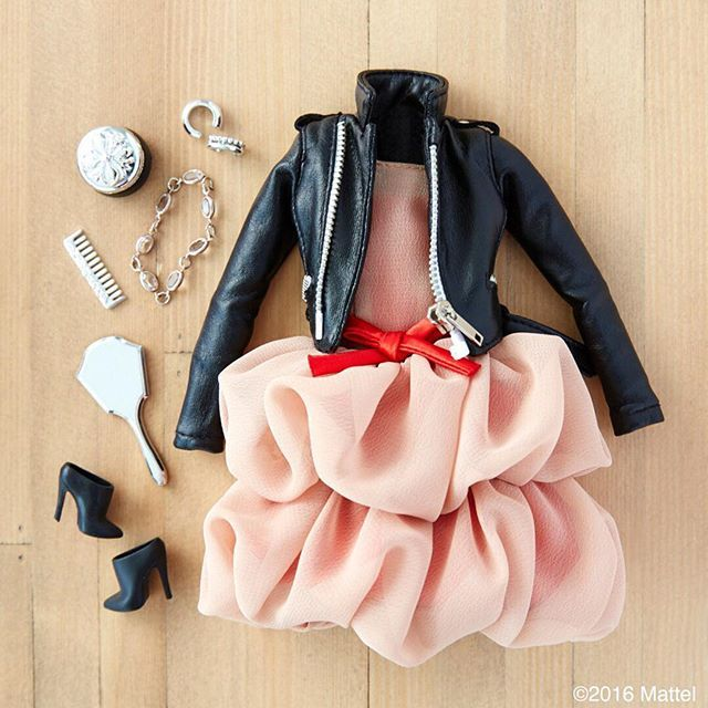 Holiday party here I come! #barbie #barbiestyle
