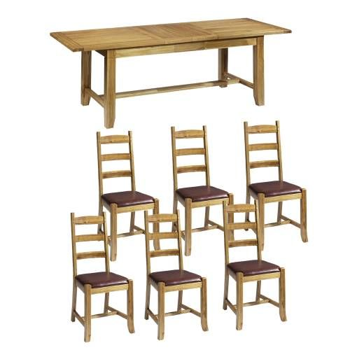 1000 ideas about oak table and chairs on pinterest oak. Black Bedroom Furniture Sets. Home Design Ideas