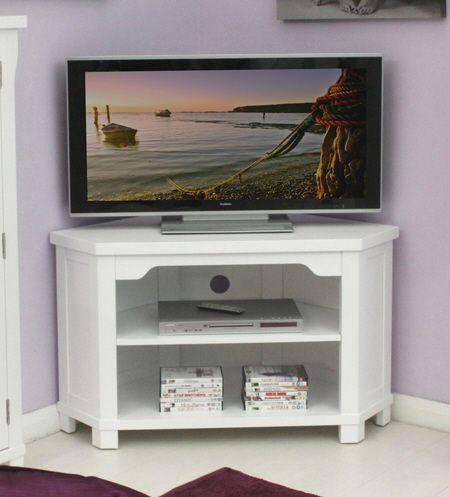 small distressed white TV unit - Google Search
