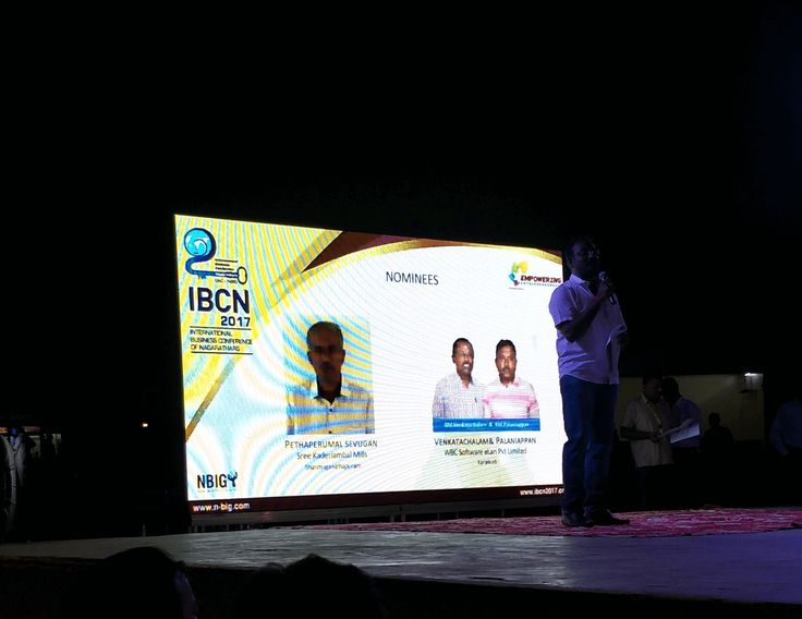 WBC Participated in International Business Conference For Nagarathar's and won runner up Best Business Entrepreneur in Chettinad.
