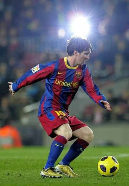 Lionel Messi,FC Barcalona... Need I say more!?